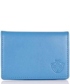 Leather Flip Card Holder