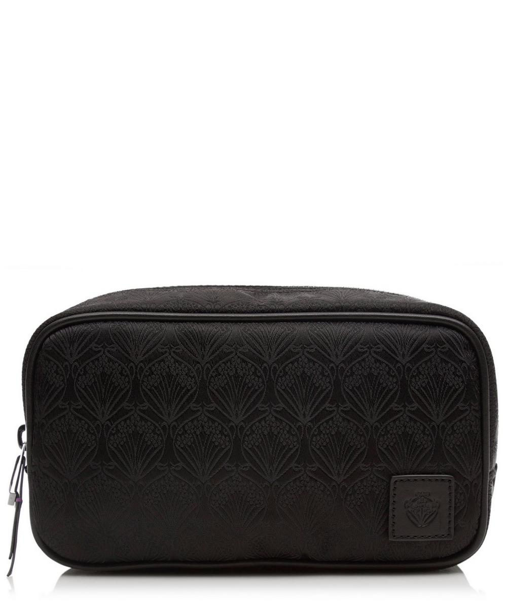 Travel Pouch In Nylon Jacquard