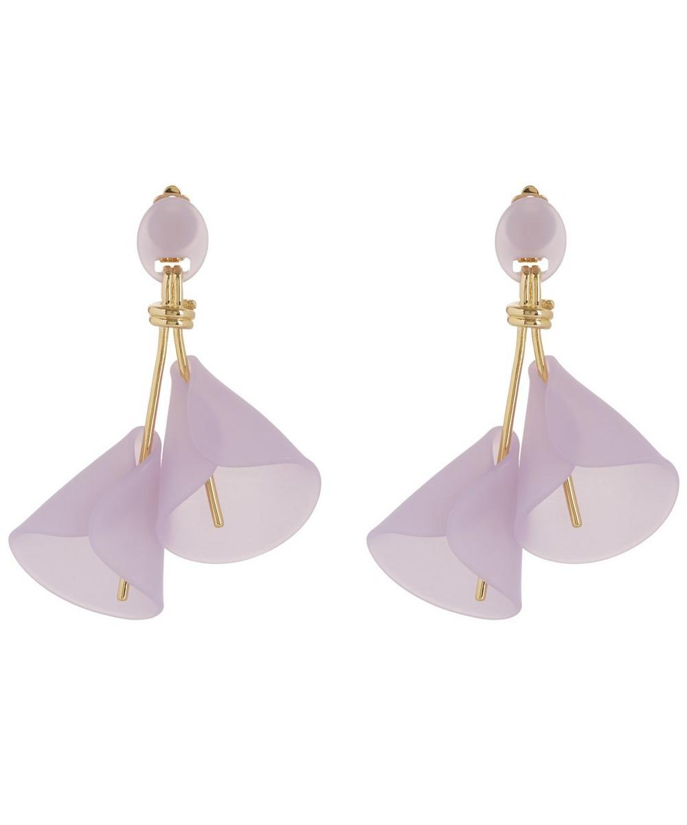 Calla Lily Clip-On Earrings