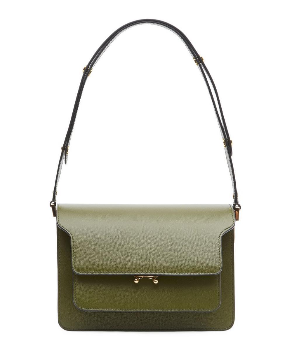 Medium Leather Trunk Shoulder Bag