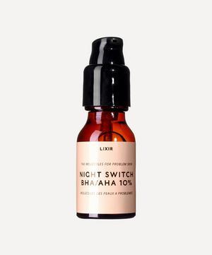Night Switch BHA/AHA 10% 15ml Serum