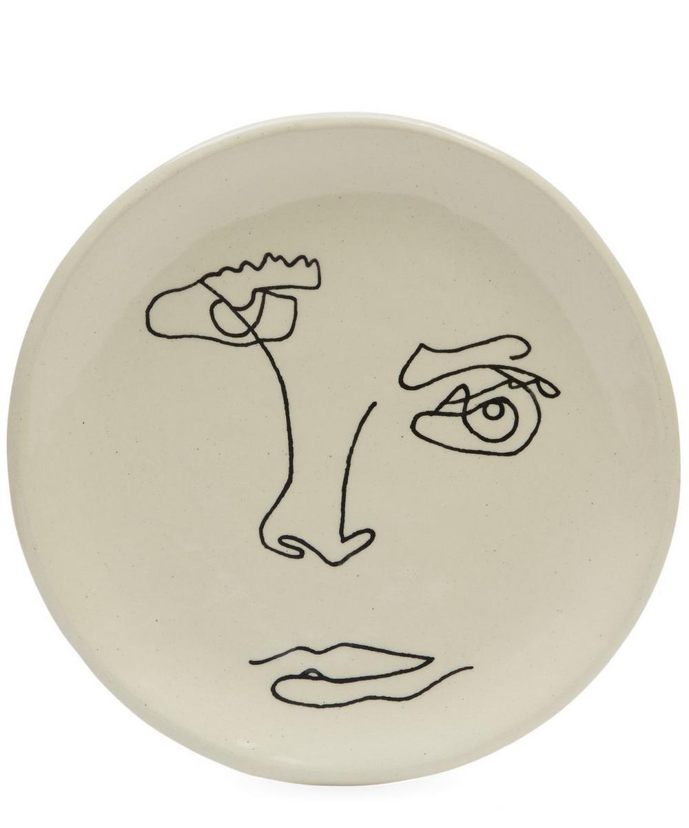 Small Plain Face Plate