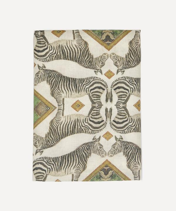 Avenida Home - Zebra Tablecloth