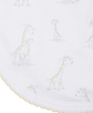Giraffe Print Bib
