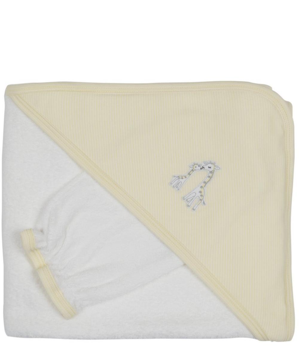Giraffe Towel and Mitt