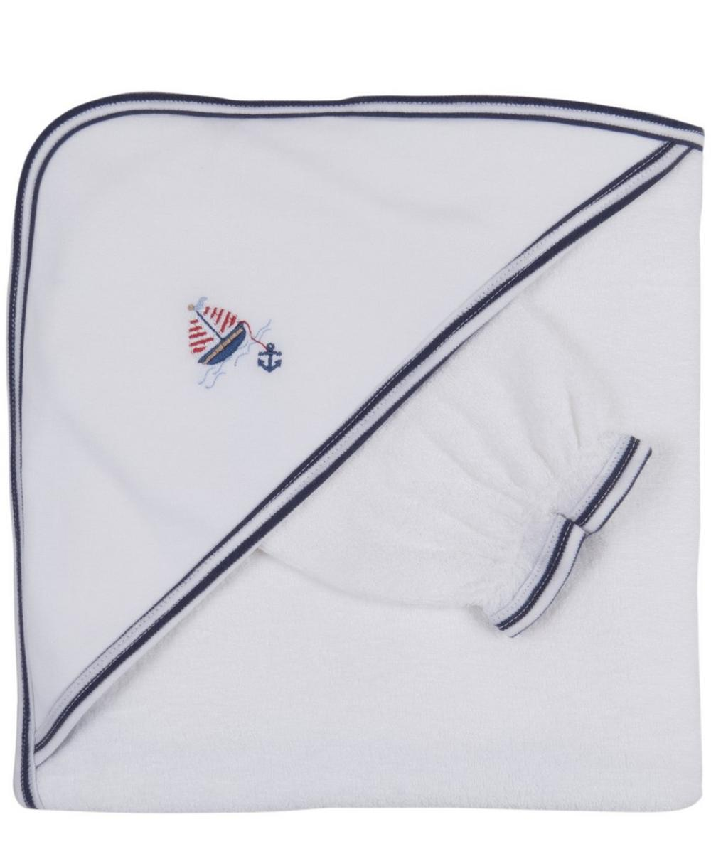 Skysail Towel With Mitt