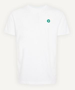 Ace Small AA Logo Cotton T-Shirt