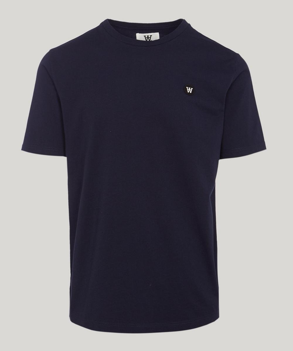Wood Wood - Ace Small AA Logo Cotton T-Shirt
