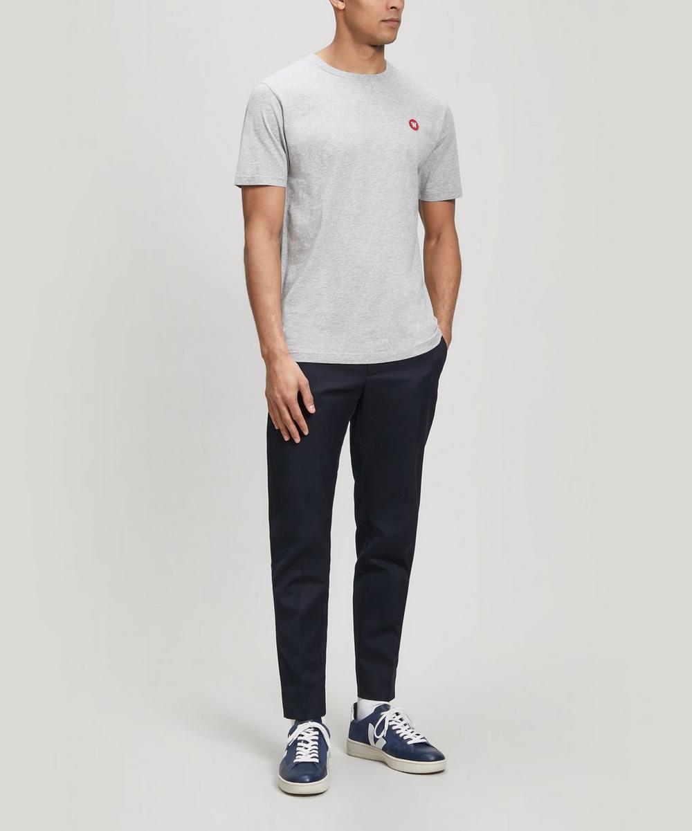 Ace Small AA Logo Cotton T-Shirt