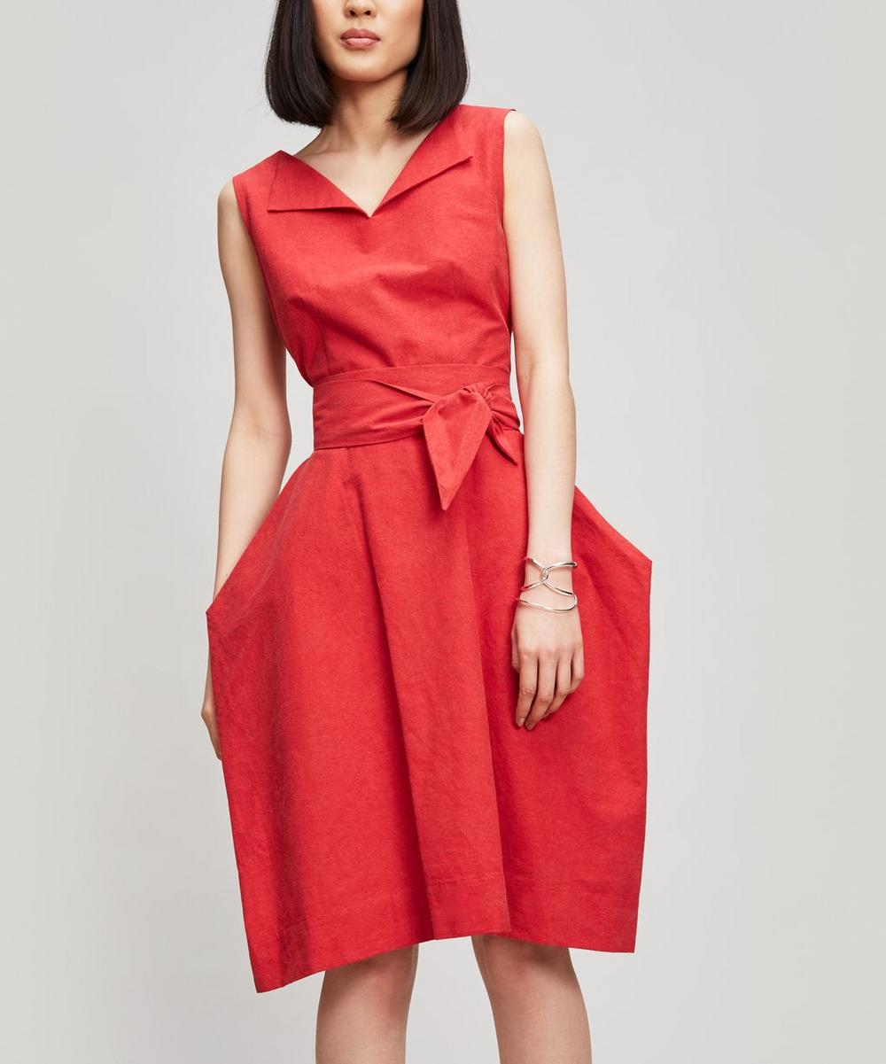 ANGLOMANIA BY VIVIENNE WESTWOOD LOTUS CALICO DRESS