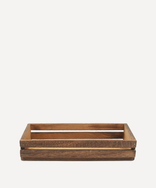 Unspecified - Small Dark Wooden Crate