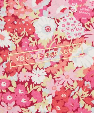 You're Engaged Thorpe Cotton-Covered Card