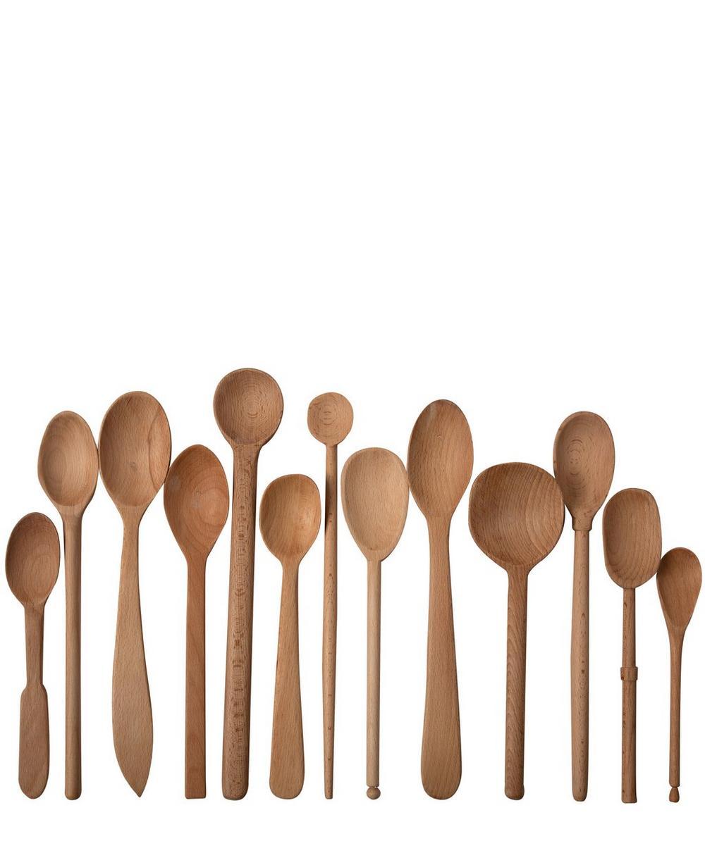 Baker's Dozen Large Wood Spoons