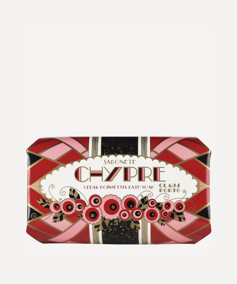 Chypre Cedar Poinsettia Bath Soap 350g