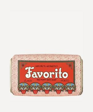 Favorito Red Poppy Soap 150g
