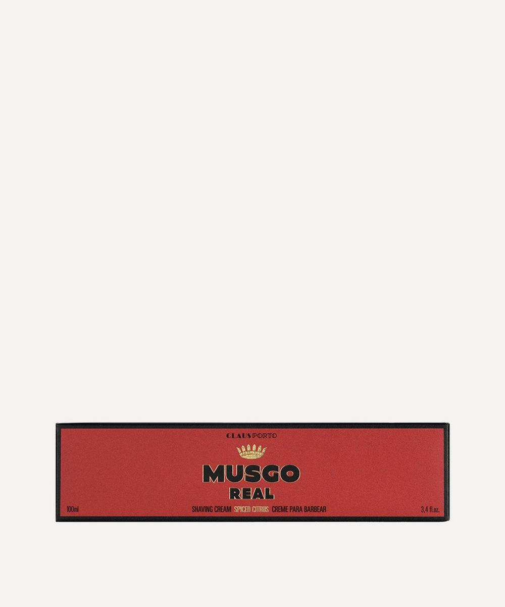 Musgo Real Spiced Citrus Shaving Cream 100ml