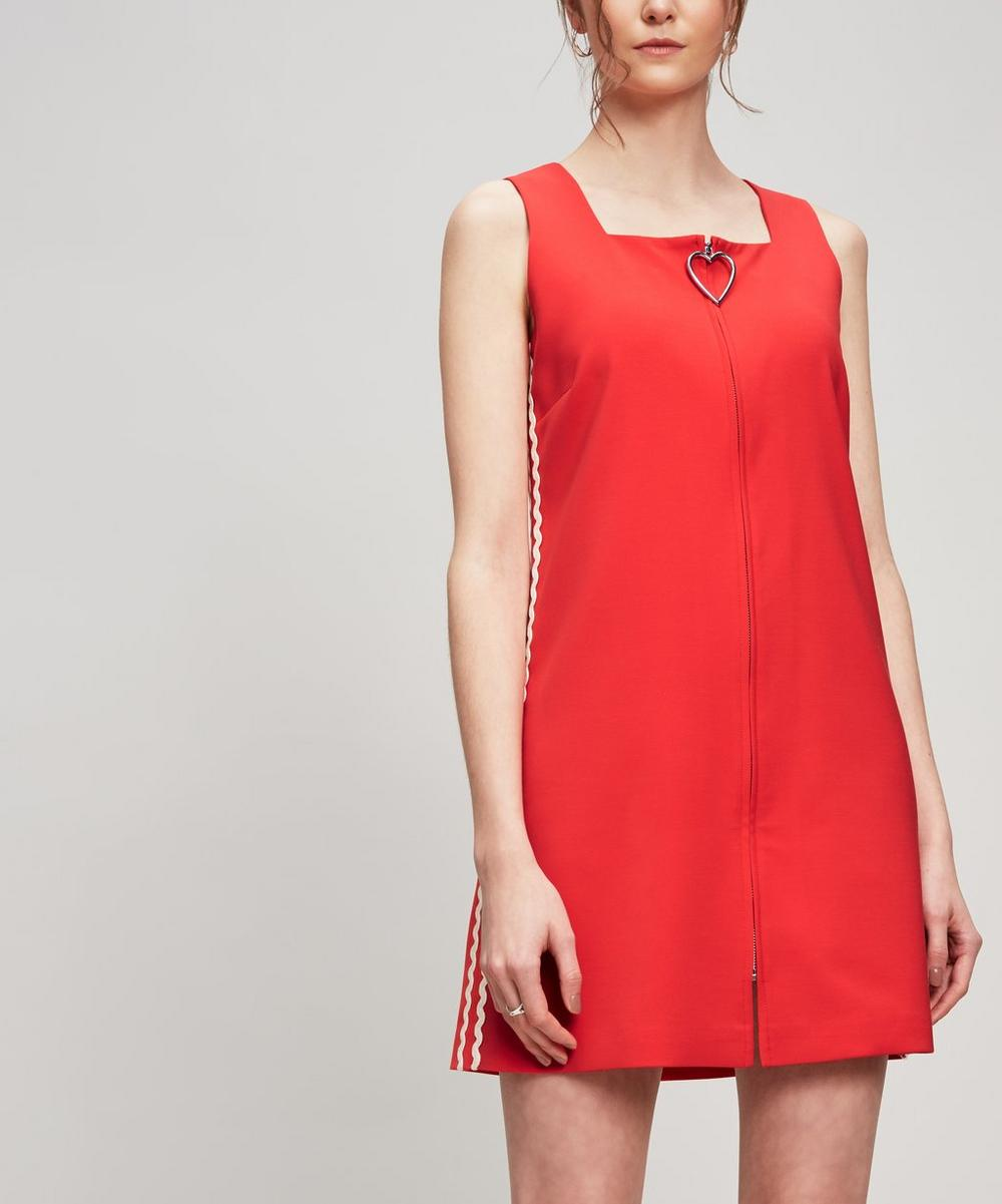 VIVETTA HEART-ZIP DRESS
