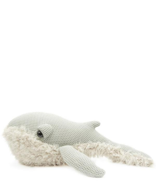 Small Grandma Whale Toy