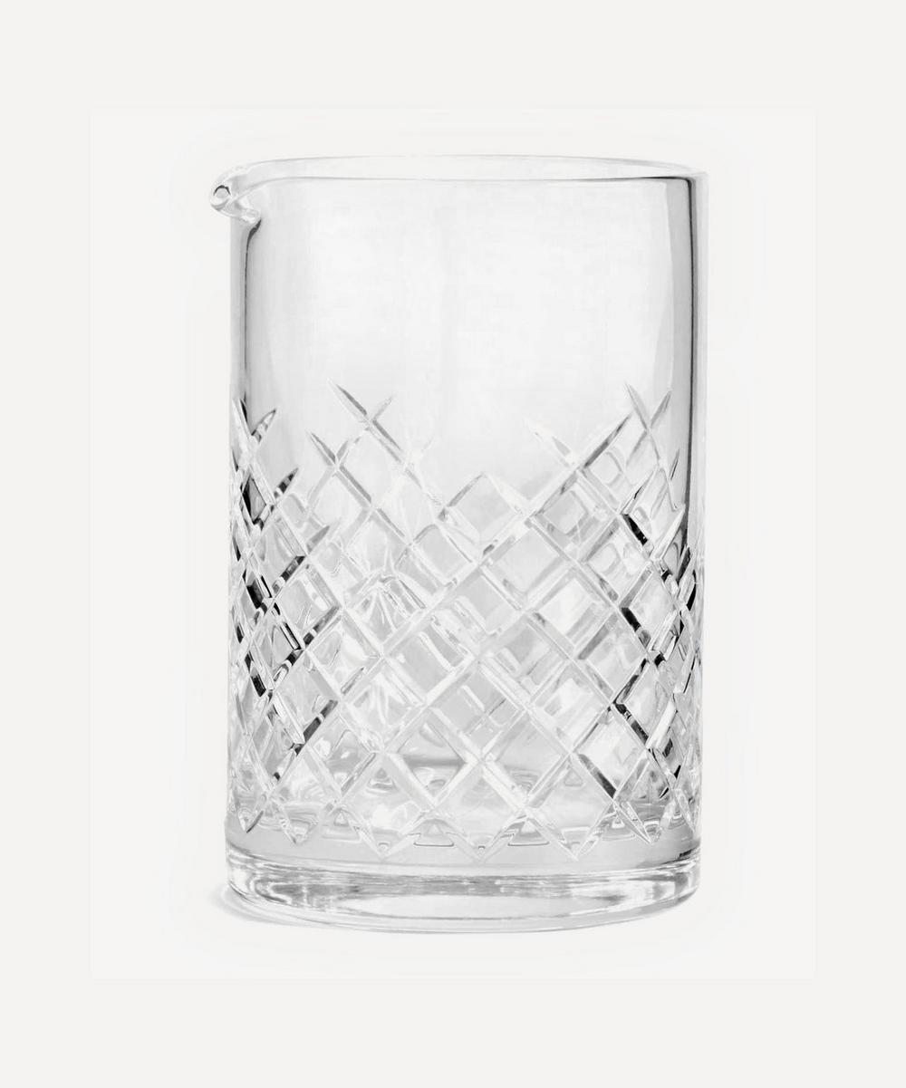 Barwell Cut Crystal Mixing Glass