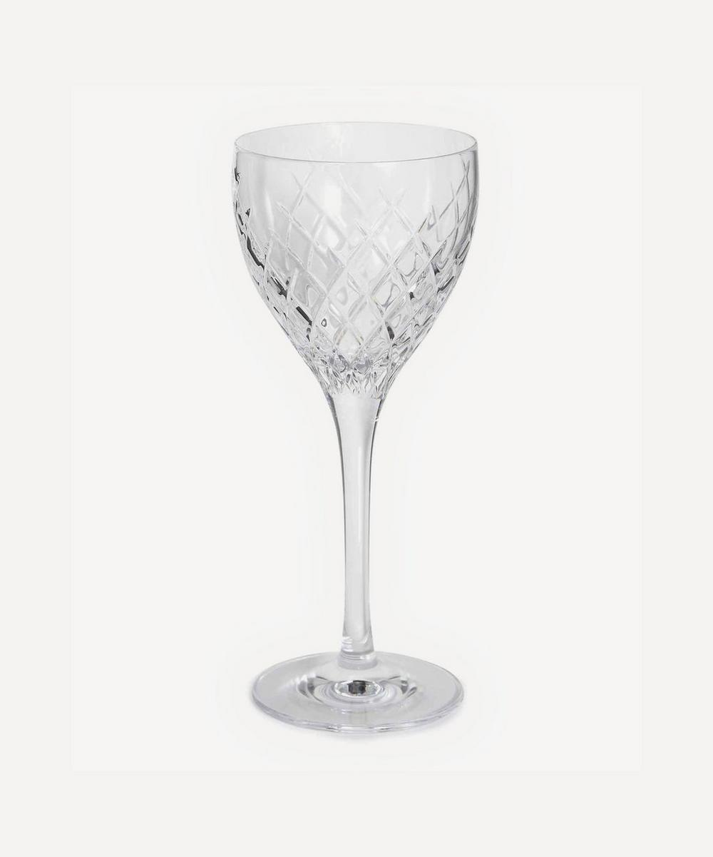 Barwell Cut Crystal White Wine Glass