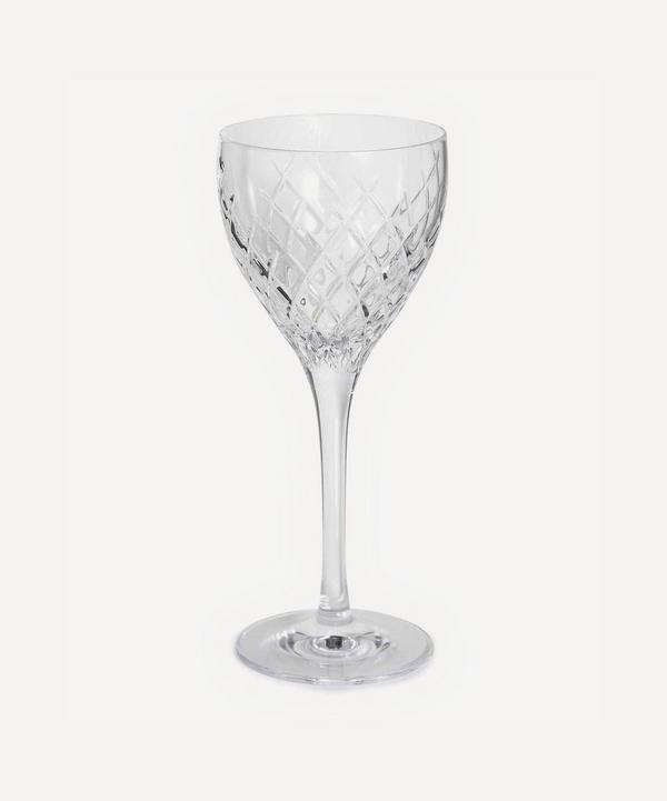 Soho Home - Barwell Cut Crystal White Wine Glass