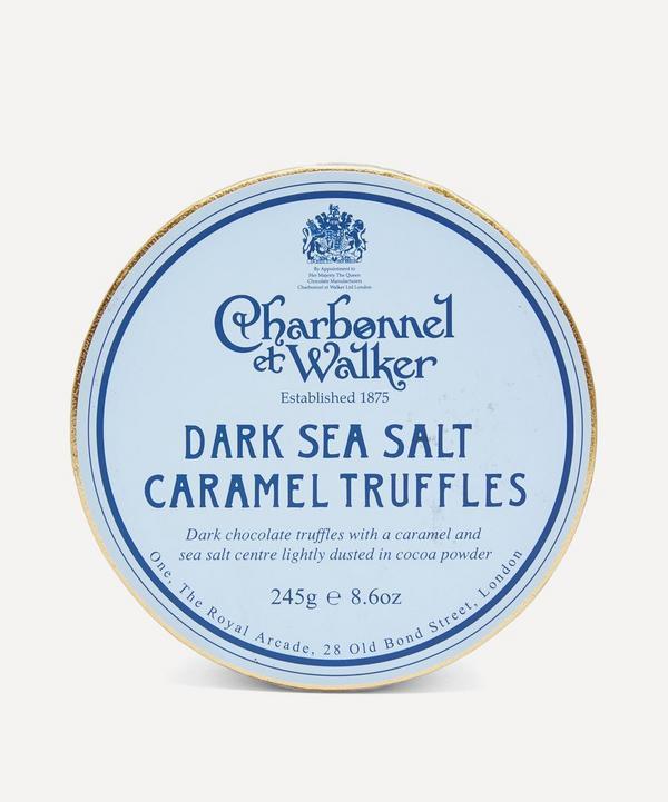 Charbonnel et Walker - Dark Sea Salt Caramel Truffles 240g