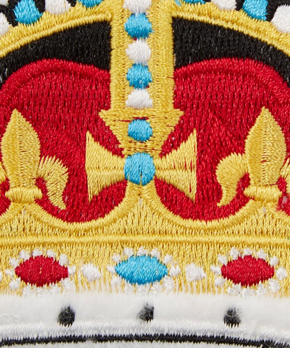 Embroidered Crown Sticker Patch
