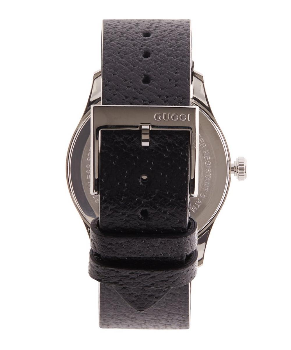 751d7a6b331 G-Timeless Leather Bee Motif Watch | Liberty London