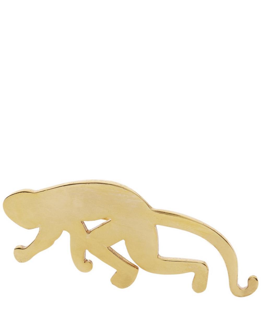 Brass Monkey Brooch
