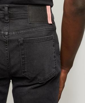 North Used Black Slim Fit Jeans