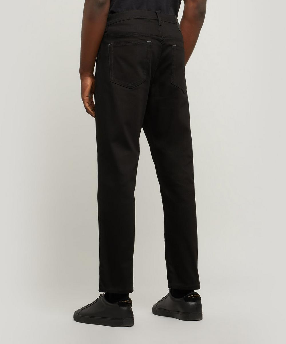 River Stay Black Straight Fit Jeans