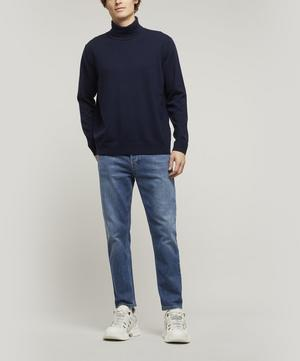 River Mid Blue Straight Fit Jeans