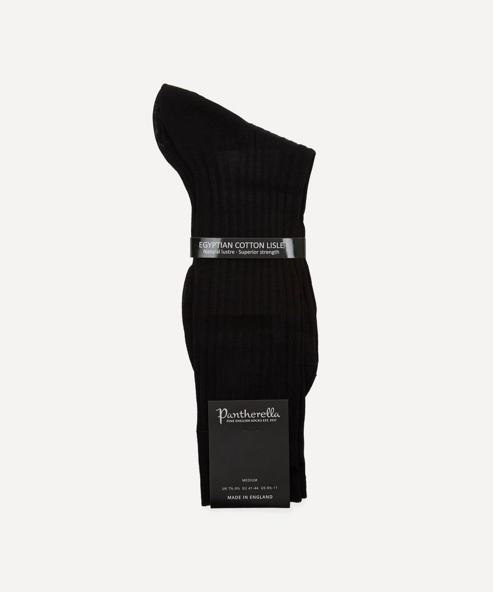 Pantherella - Danvers Ribbed Cotton Socks