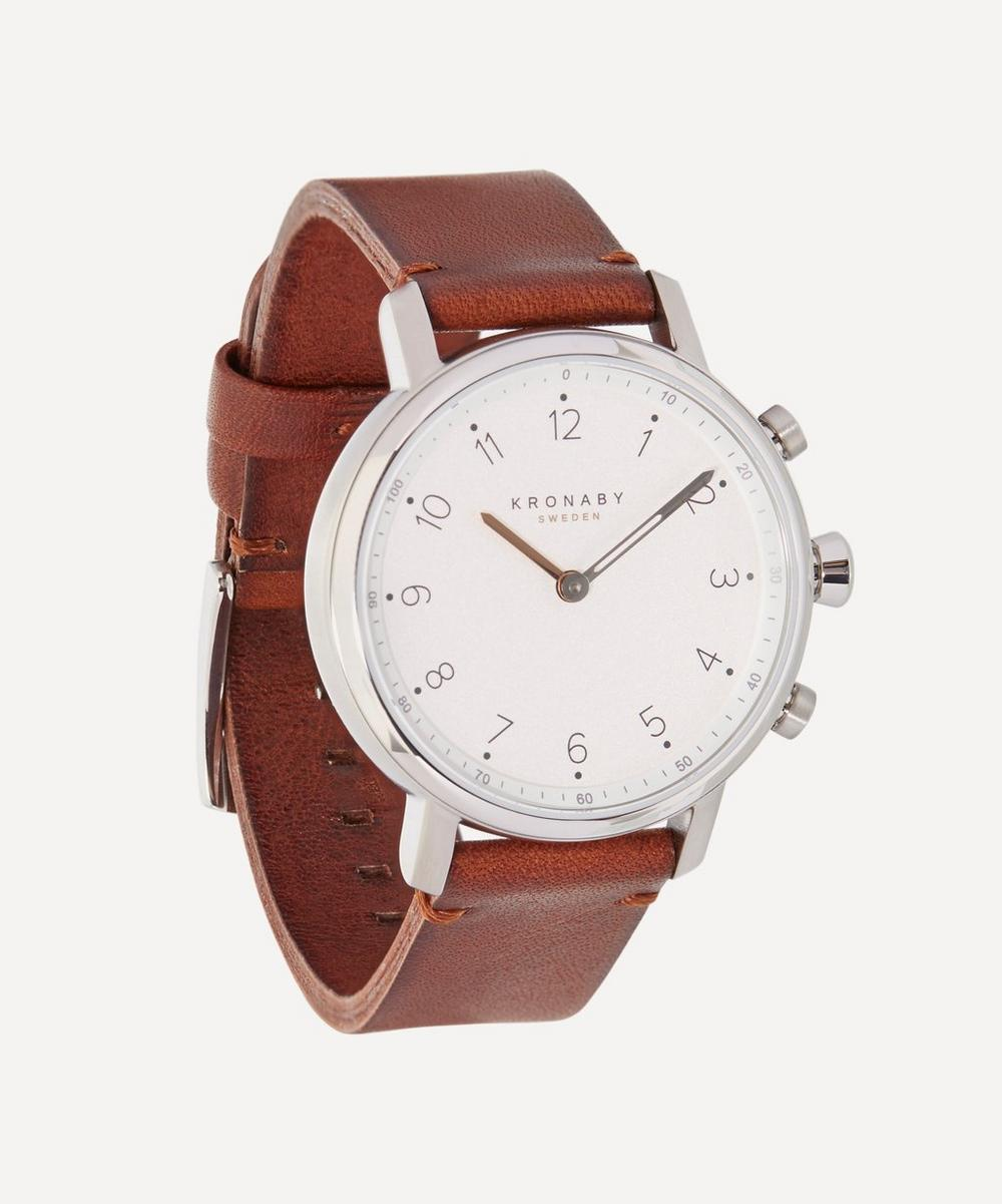 Nord Leather Strap Smart Watch