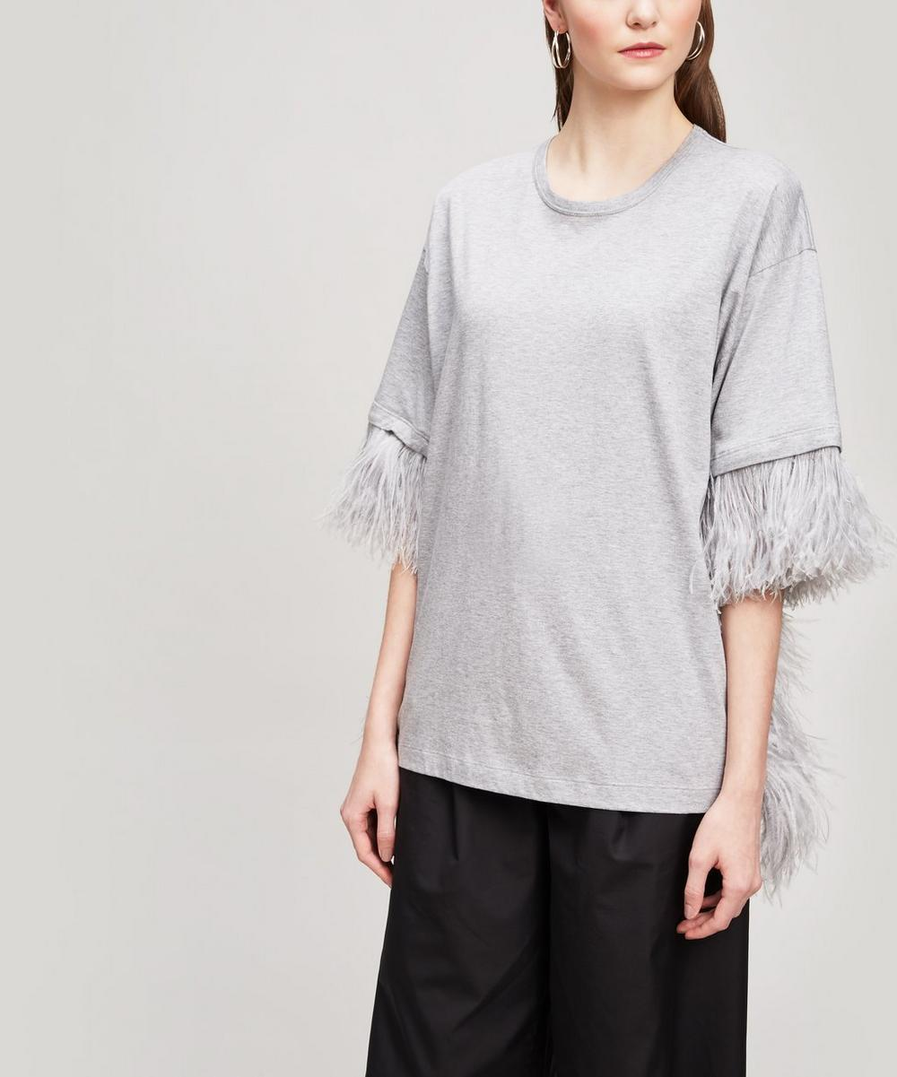 N°21 FEATHER T-SHIRT