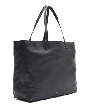 Lambskin Oversized Tote Bag