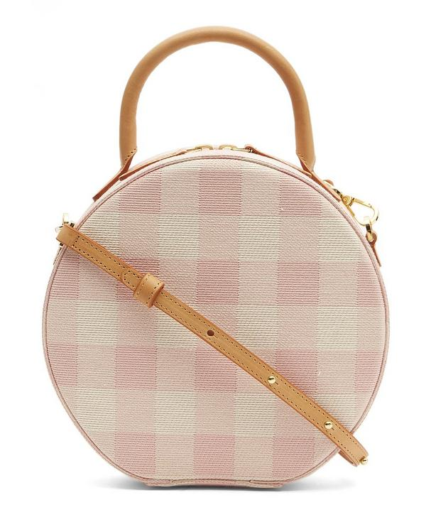 Circle Checker Cross Body Bag