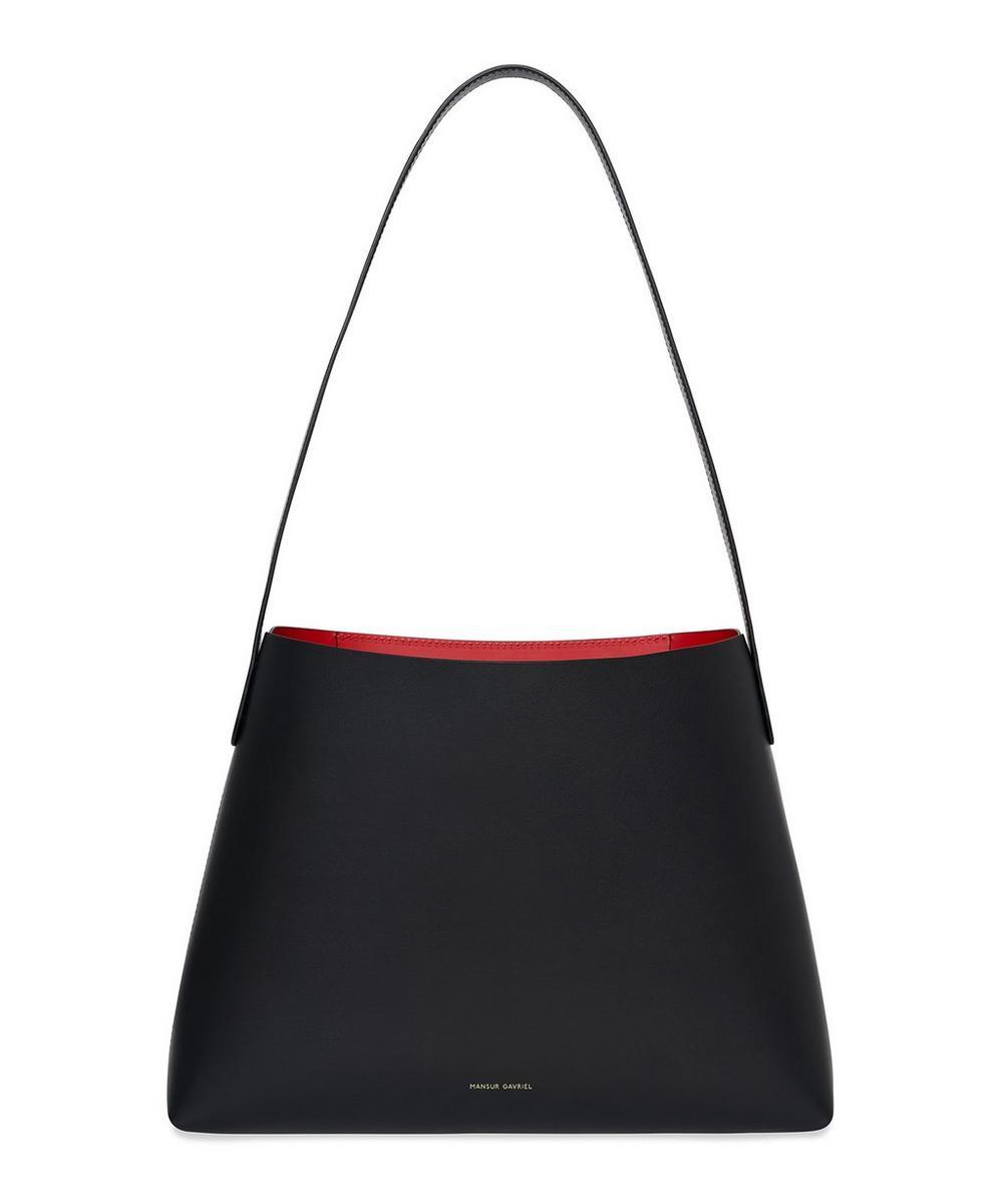 Vegetable-Tanned Leather Shoulder Bag