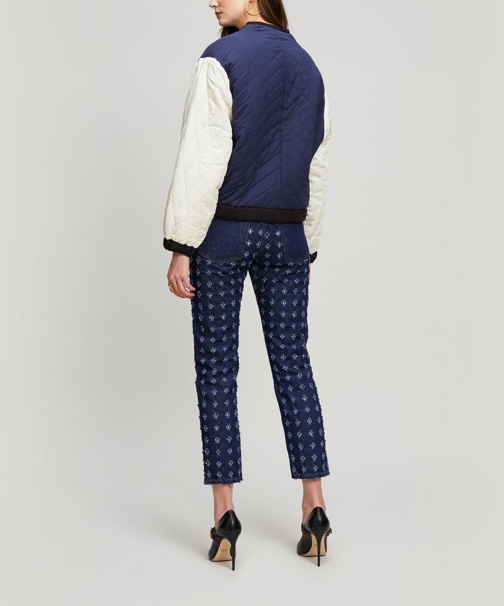 Hanae Reversible Zip Jacket Liberty London