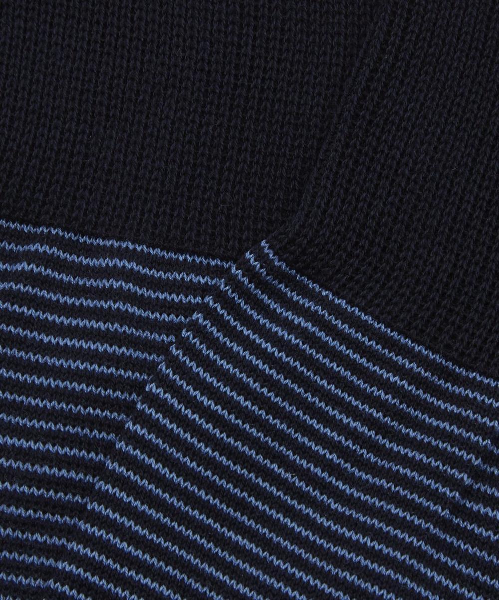 Seymour Micro Stripe Cotton Socks