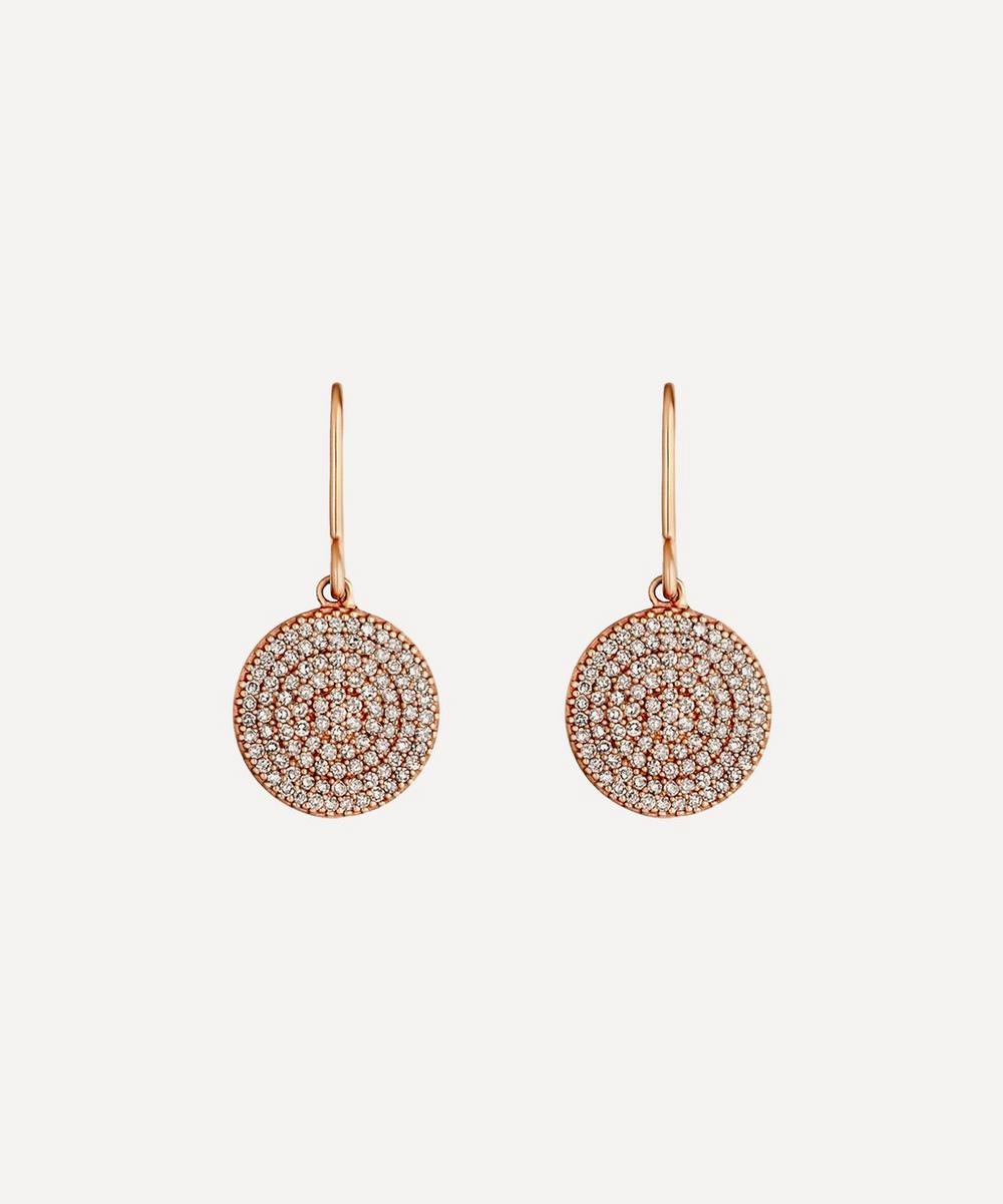 Rose Gold Icon Diamond Earrings