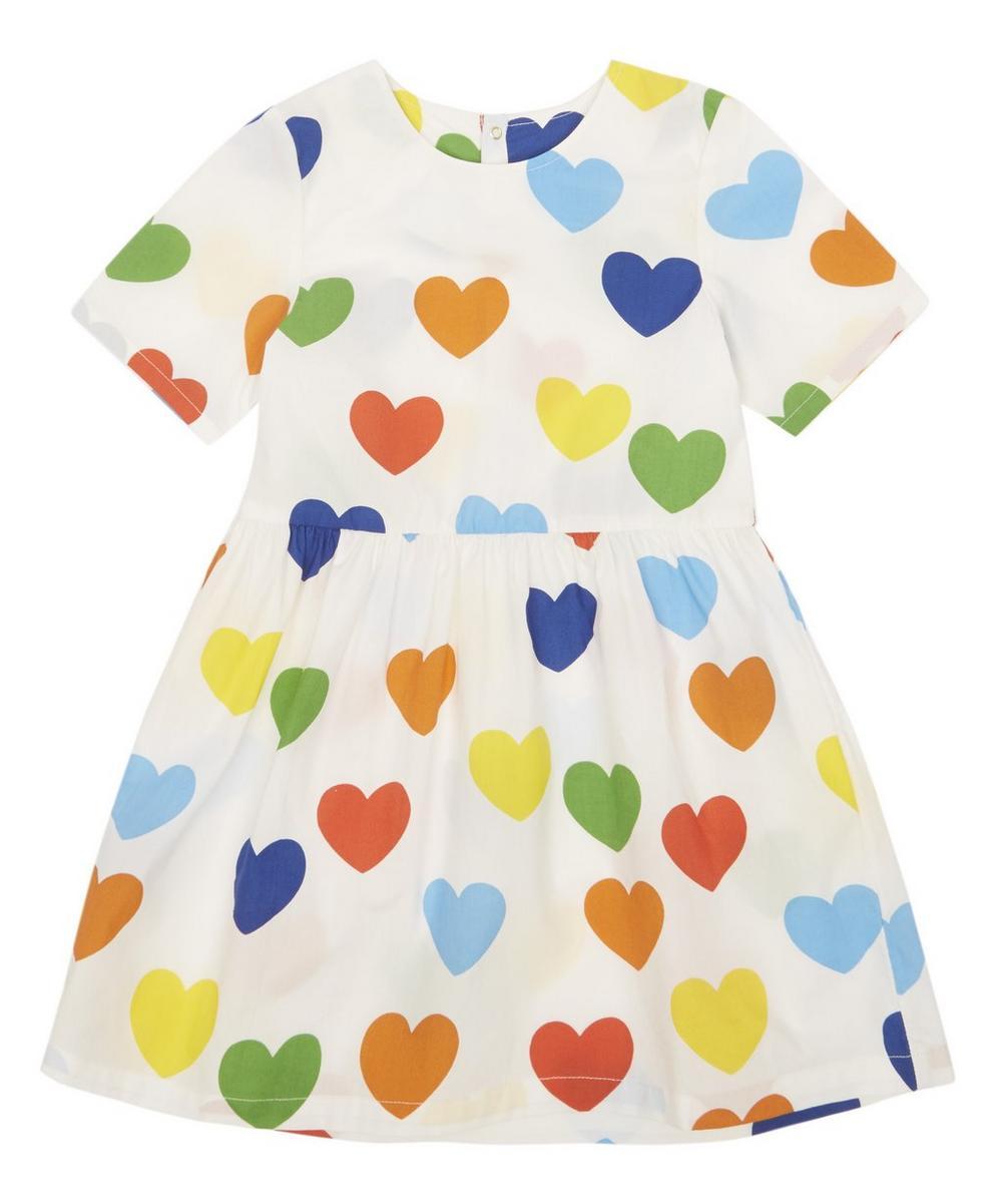 Mini Rodini RAINBOW LOVE WOVEN DRESS 12 MONTHS - 8 YEARS