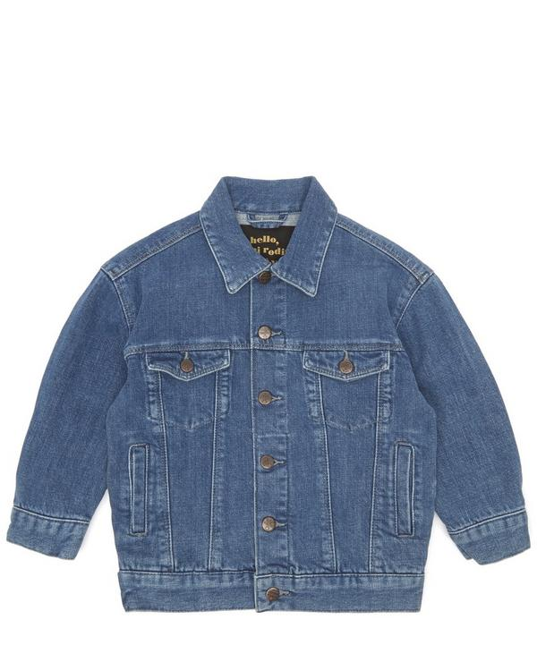 Space Cat Denim Jacket 12 Months-8 Years