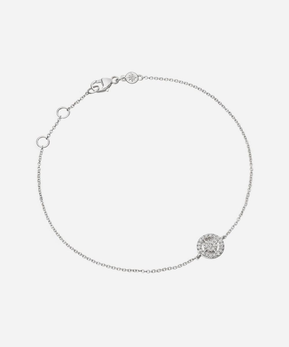 White Gold Mini Icon Aura Bracelet