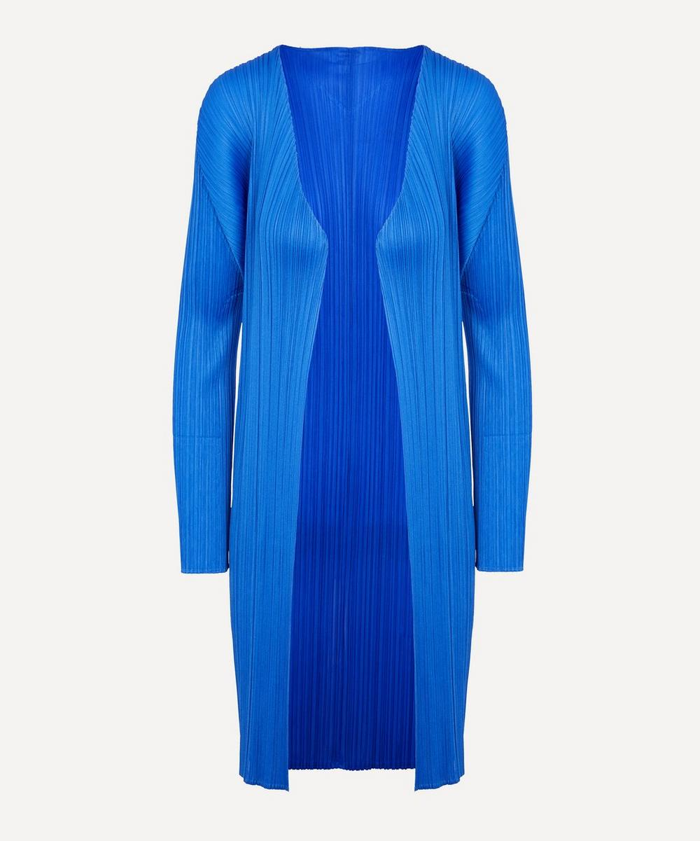 Pleats Please Issey Miyake Tops LONG CARDIGAN