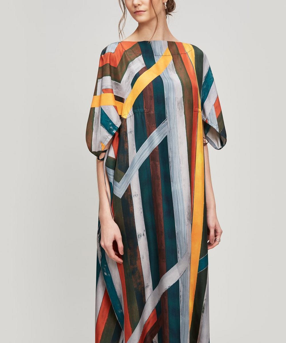 Nehera DATTER PRINTED SILK DRESS