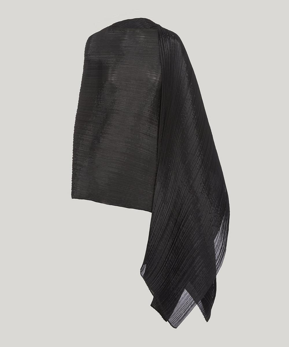 PLEATS PLEASE ISSEY MIYAKE MADAME T PLEATED SCARF