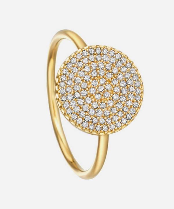 Astley Clarke - Gold Icon Diamond Ring