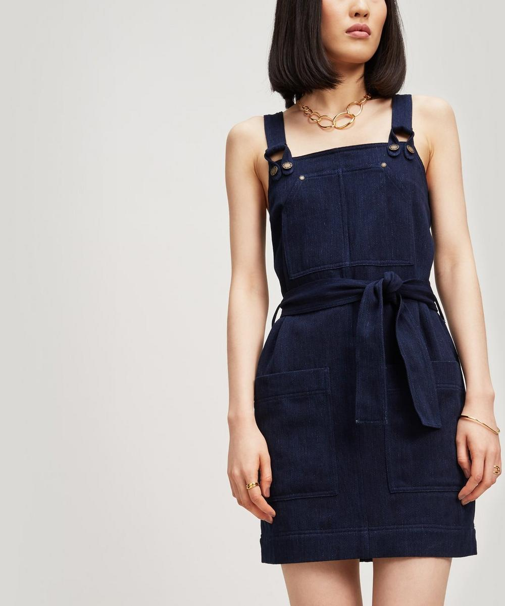Sessun BLUE INK DUNGAREE DRESS