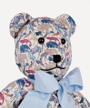 Queue For The Zoo Liberty Print Bear
